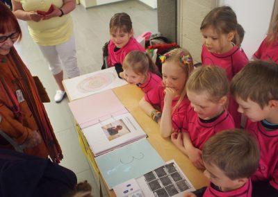 Iltapäiväryhmä tutki sormenjälkiä, 2019